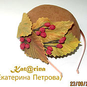 Аксессуары handmade. Livemaster - original item Mini hat
