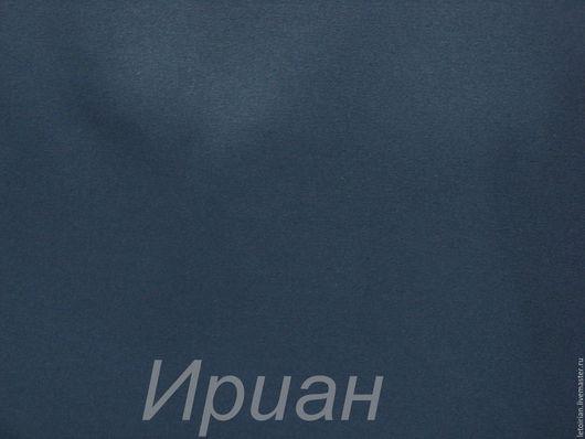 Шитье ручной работы. Ярмарка Мастеров - ручная работа. Купить Ткань  Гретта гладкокрашенная. Handmade. Тёмно-синий, ткань для охраны