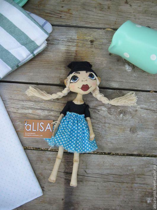 Коллекционные куклы ручной работы. Ярмарка Мастеров - ручная работа. Купить Кукла-путешественница. Handmade. Комбинированный, кукла в подарок