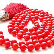 Фен-шуй и эзотерика handmade. Livemaster - original item Muladhara rosary for 1st chakra 108 stones. Handmade.
