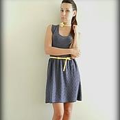 """Одежда ручной работы. Ярмарка Мастеров - ручная работа вязаное платье """"Лаванда"""". Handmade."""