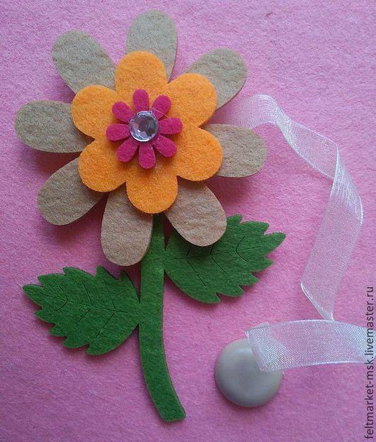Вырубка из фетра `Цветок` бежевый Размер: 14,5х8,5 см Толщина 1 см Стоимость 125 руб./ шт. При заказе указывайте нужный цвет и количество