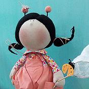 Куклы и игрушки ручной работы. Ярмарка Мастеров - ручная работа Девочка букашка. Handmade.