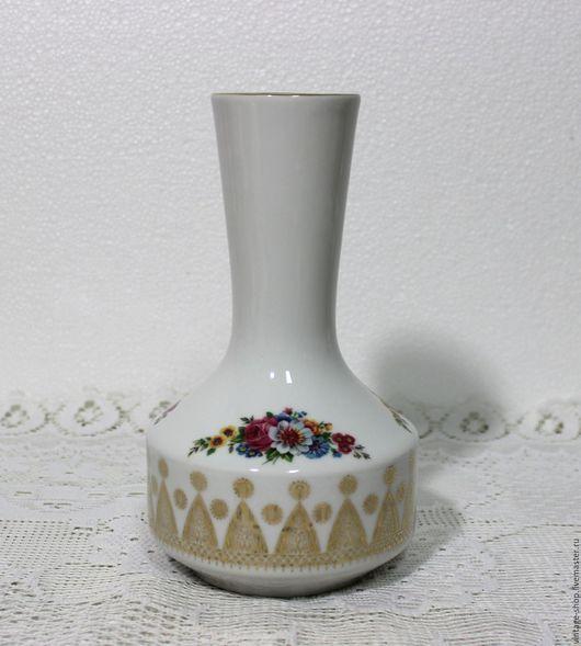 """Винтажные предметы интерьера. Ярмарка Мастеров - ручная работа. Купить Фарфоровая ваза """"Winterling"""" Германия, начало 70-х г.г.. Handmade."""
