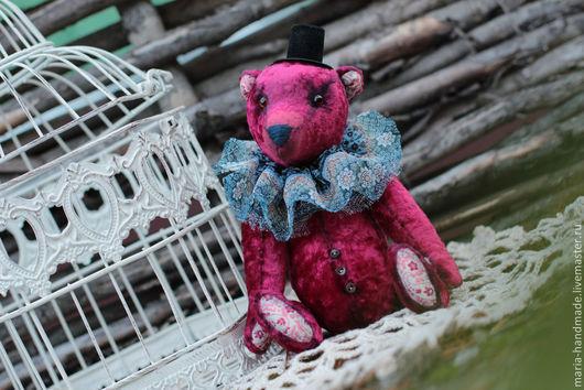 Мишки Тедди ручной работы. Ярмарка Мастеров - ручная работа. Купить Бенджамин. Handmade. Тедди, медведь, Винтажный плюш, синтепух