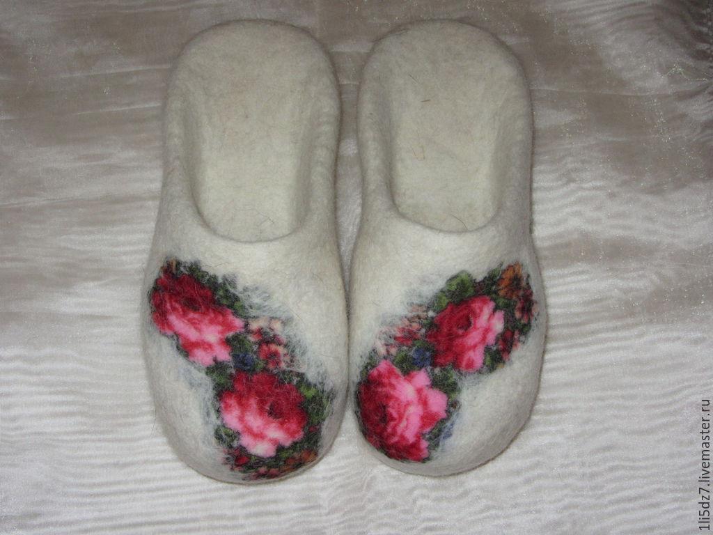 Валяные шлепки, Обувь, Петрозаводск, Фото №1