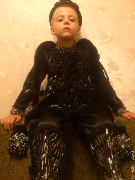 Детские карнавальные костюмы ручной работы. Ярмарка Мастеров - ручная работа. Купить Костюм Паука. Handmade. Черный
