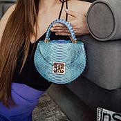 Сумки и аксессуары handmade. Livemaster - original item Python shoulder bag. Handmade.