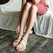 Обувь ручной работы handmade. Livemaster - original item Magic sandals