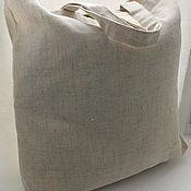Сумки и аксессуары handmade. Livemaster - original item Ecosumy large linen