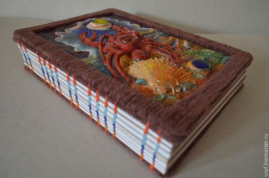 Записные книжки ручной работы. Ярмарка Мастеров - ручная работа. Купить Записная книга для красивых мыслей ручной работы. Handmade.