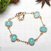 Украшения handmade. Livemaster - original item Bracelet with crystals