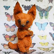 Куклы и игрушки ручной работы. Ярмарка Мастеров - ручная работа Лисёнок Фокси. Handmade.
