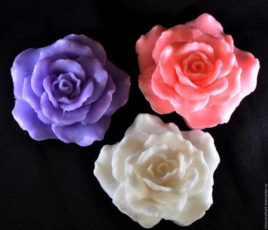 Мыло Роза ручная работа подарок цветок объемный handmade