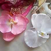 Украшения handmade. Livemaster - original item Large Orchid pendant with bale. Handmade.