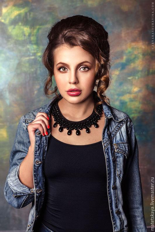 Фото: Варвара Шуравина Hair: Ksenia Tsobynina mua: Виктория Сиротина колье: Елена Матецкая