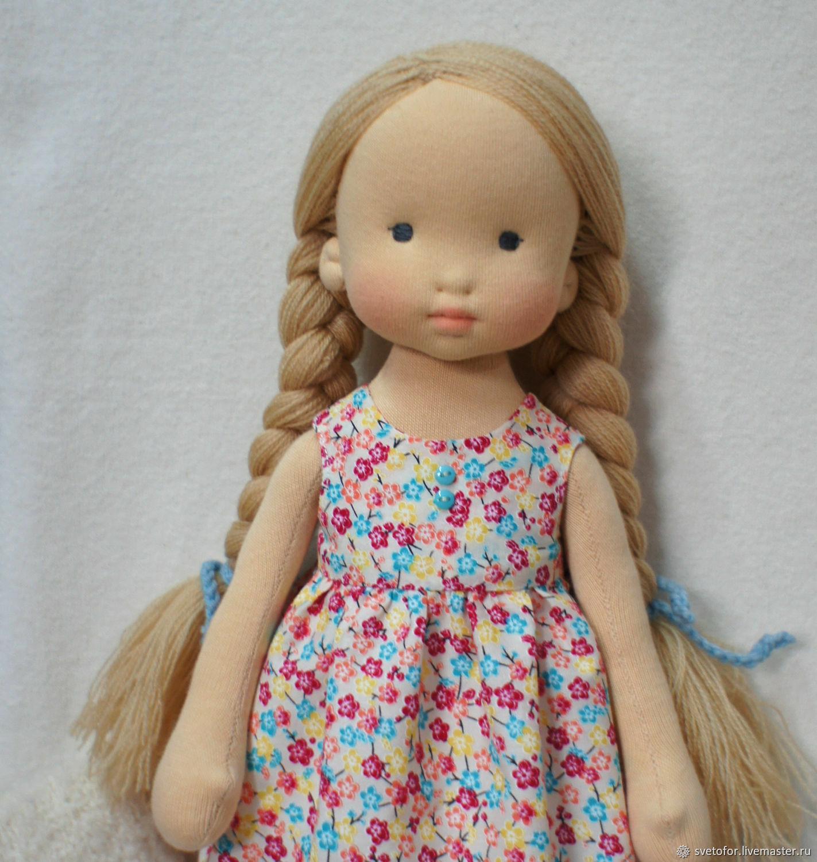 Вальдорфская кукла для Елены, 38 см ООАК, Вальдорфские куклы и звери, Пермь,  Фото №1