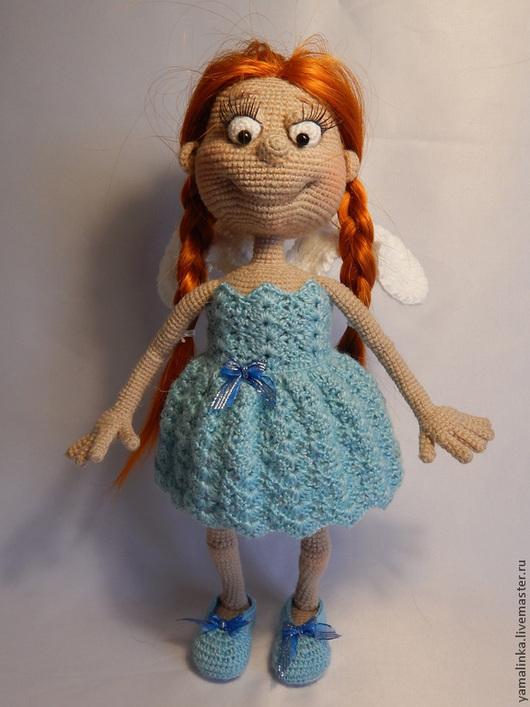 Человечки ручной работы. Ярмарка Мастеров - ручная работа. Купить Ангел любви. Handmade. Ангел, кукла вязаная, кукла игрушка