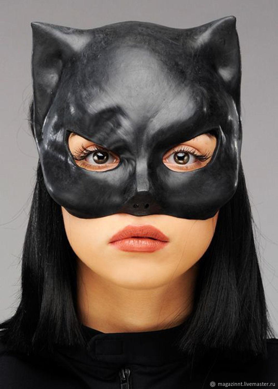 Как сделать маску женщины кошки фото 152