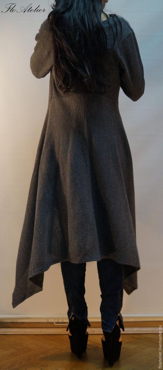 Купить длинный свитер женский