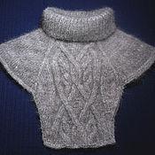Аксессуары handmade. Livemaster - original item Knitted dickey `Irish Arans`. Handmade.
