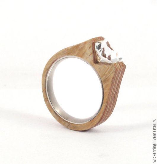 Обручальное кольцо от WickerRing