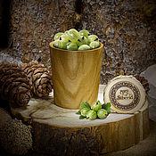 Посуда handmade. Livemaster - original item Glass natural wood Wooden glass Siberian Elm #C9. Handmade.