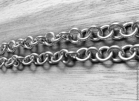Для украшений ручной работы. Ярмарка Мастеров - ручная работа. Купить Цепь для сборки разъемная sZP117 10см (серебро). Handmade.