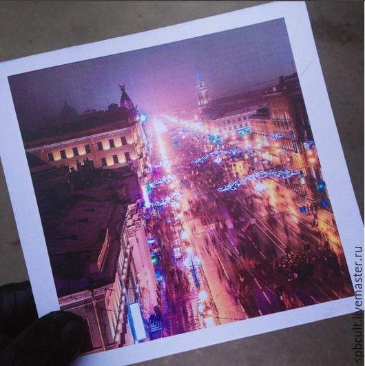 Почтовая открытка из качественного дизайнерского картона премиум класса на заказ с Вашей фотографией. Handmade