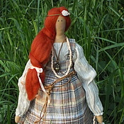 Куклы и игрушки ручной работы. Ярмарка Мастеров - ручная работа Кукла Тильда в стиле БОХО). Handmade.