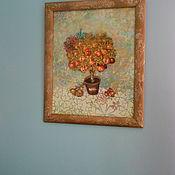 """Картины и панно ручной работы. Ярмарка Мастеров - ручная работа Панно """"Дерево счастья"""". Handmade."""