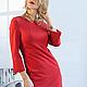 Платья ручной работы. Ярмарка Мастеров - ручная работа. Купить Платье  PARIS red. Handmade. Одежда, Париж, стильное платье
