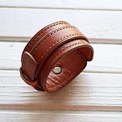 Кожаный браслет Мужской браслет с гравировкой браслет из кожи