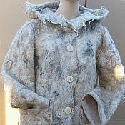 """Одежда ручной работы. Ярмарка Мастеров - ручная работа Куртка из """"каракуля"""" на шелке. Handmade."""