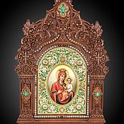 Картины и панно handmade. Livemaster - original item The icon of the virgin quick to hearken. Handmade.