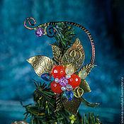 """Украшения ручной работы. Ярмарка Мастеров - ручная работа Кафф на левое ушко """"Аленький цветочек"""". Handmade."""