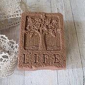 Косметика ручной работы. Ярмарка Мастеров - ручная работа Мыло с розовой глиной. Handmade.