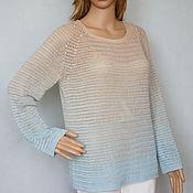 Одежда handmade. Livemaster - original item Pullover cashmere-silk