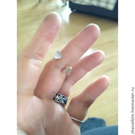 Кольца ручной работы. Ярмарка Мастеров - ручная работа. Купить Именное кольцо - Кольцо с инициалами. Handmade. Серебряный, серебряное кольцо