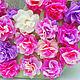 Праздничная атрибутика ручной работы. Большая объемная цифра из милых цветочков. Анастасия. Ярмарка Мастеров. Праздничная атрибутика, фотосессия
