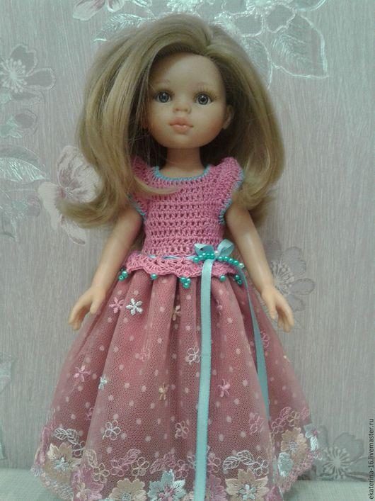 платье нарядное для куклы Паола Рейна