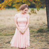 Свадебный салон ручной работы. Ярмарка Мастеров - ручная работа Короткое свадебное платье. Handmade.