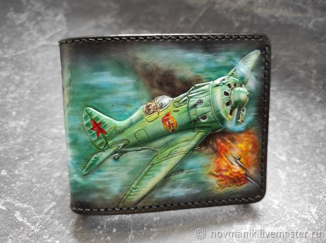 Портмоне (кошелек, бумажник) двойного сложения (Bi-fold wallet) № 50, Кошельки, Ковров,  Фото №1