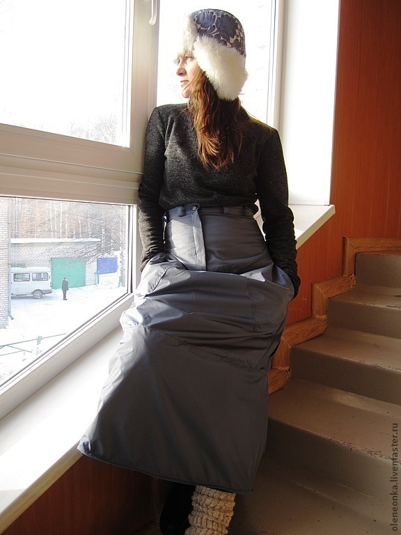 Skirt with built in pants, Skirts, Vorotynets,  Фото №1