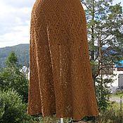 """Одежда ручной работы. Ярмарка Мастеров - ручная работа """"Молочный шоколад"""" юбка. Handmade."""