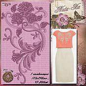 Материалы для творчества handmade. Livemaster - original item Romance 1. Design for machine embroidery.. Handmade.