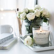 Свечи ручной работы. Ярмарка Мастеров - ручная работа Соевая арома свеча. Handmade.