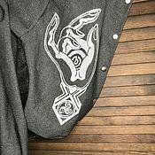 Одежда handmade. Livemaster - original item Bombers: evening bomber