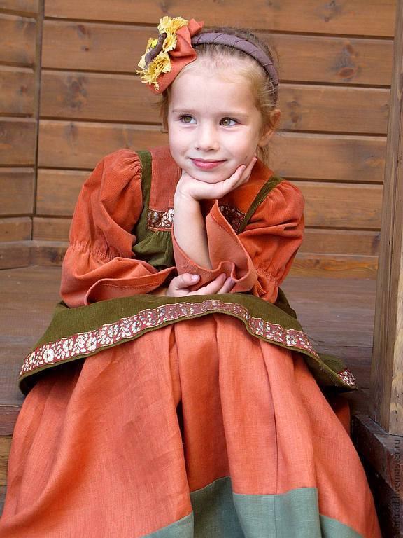 Костюм в русском стиле Сударыня, Одежда для девочек, Анапа, Фото №1