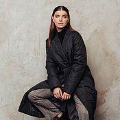 Одежда handmade. Livemaster - original item Women`s down jacket Louvre. Handmade.